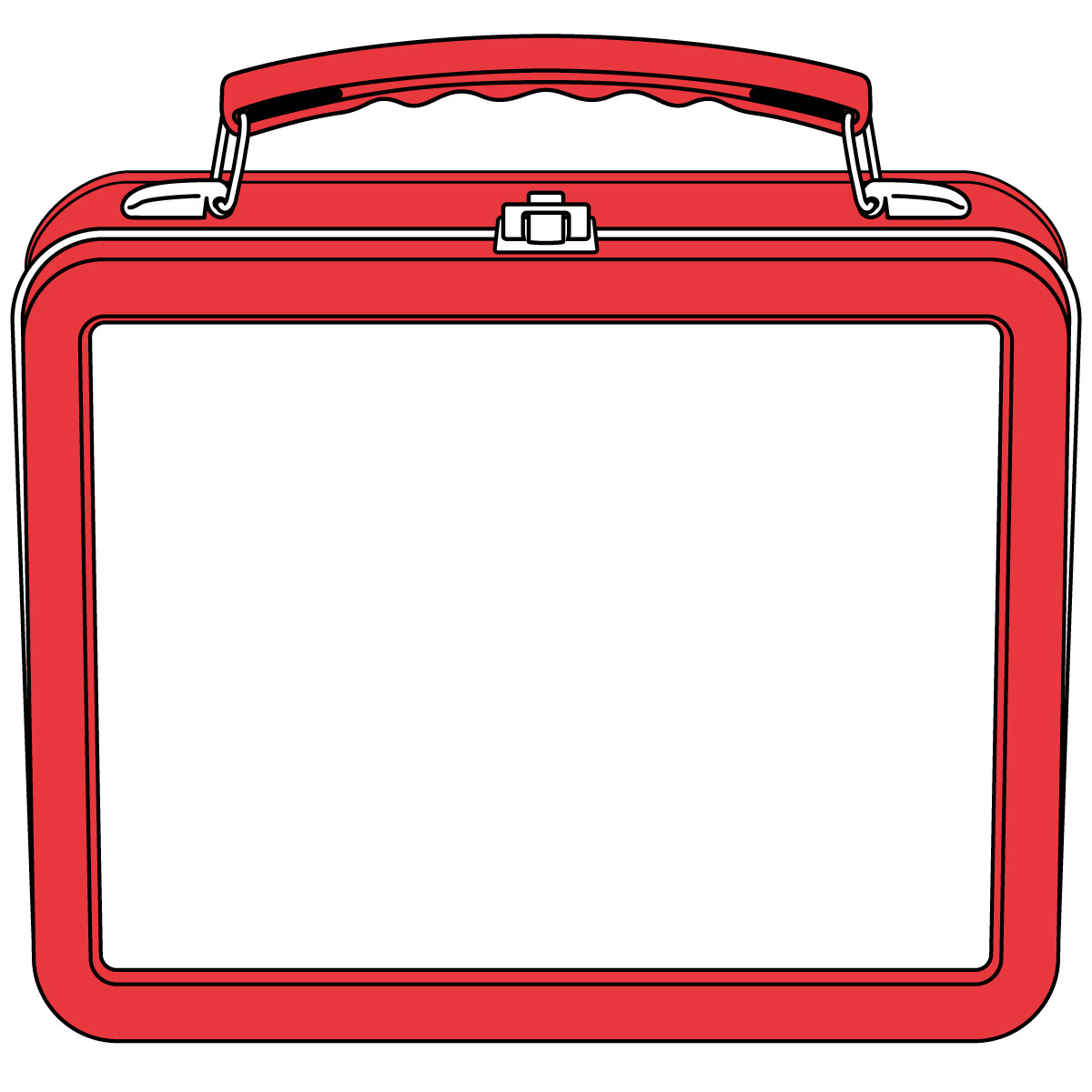 1200x1200 Free Lunch Box Clipart Image