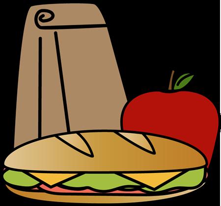 450x419 Bag Sandwich Lunch Clip Art