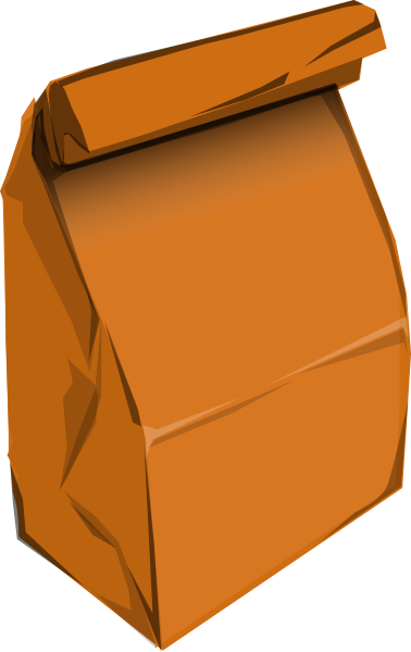 378x600 Lunch Bag Clipart