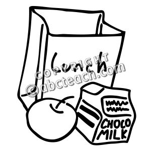 300x300 Clip Art Lunch Bag Bampw Clipart Panda