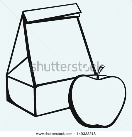 450x469 Empty Lunch Box Clipart