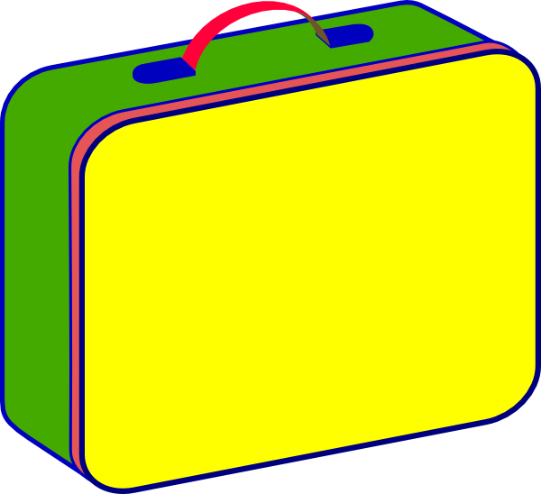 600x548 Free Lunch Box Clipart Image