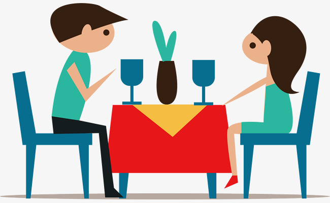 650x400 Lunch Party, Cartoon, Business Dinner Png And Vector For Free Download