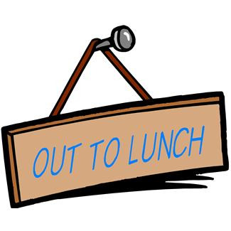 325x325 Out To Lunch Clipart Free Images