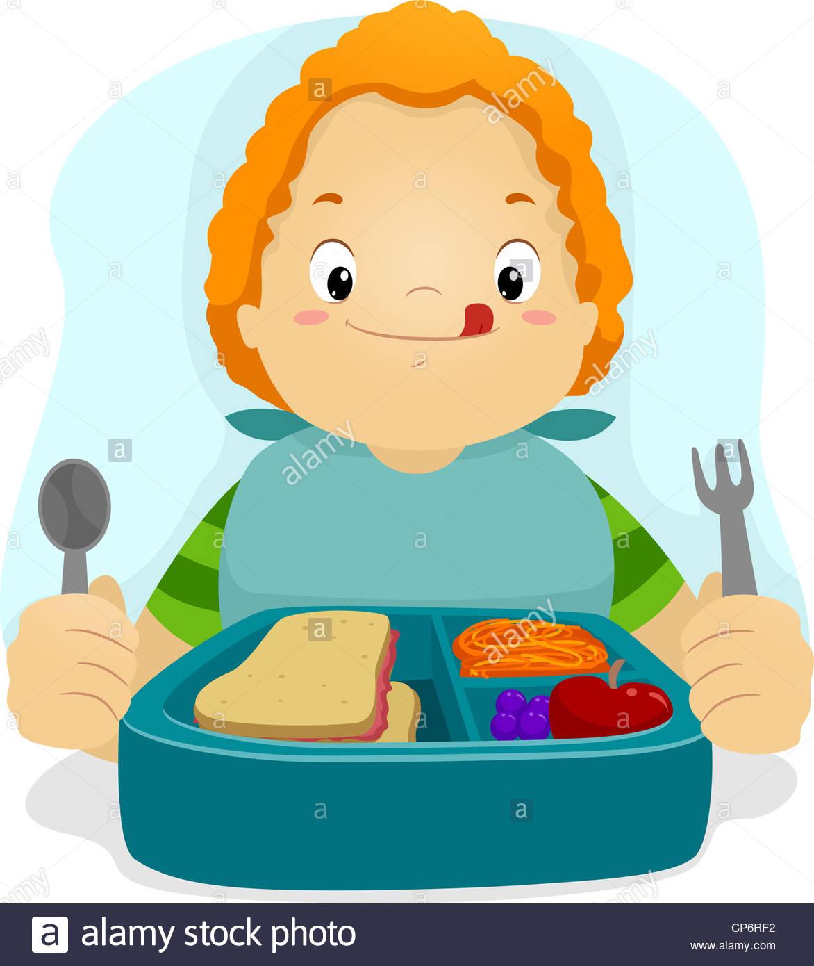 1172x1390 Cartoon Illustration Hungry Boy Stock Photos Amp Cartoon