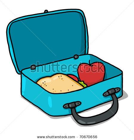 450x470 Cartoon Lunch Box Clipart