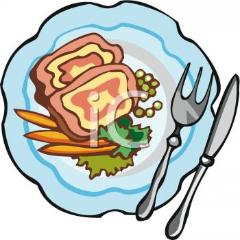 Lunch Menu Clipart
