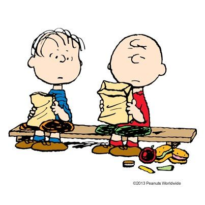 403x403 Lunch Clipart Charlie Brown