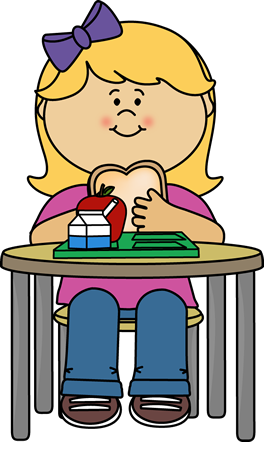264x450 School Lunch Tray Clipart