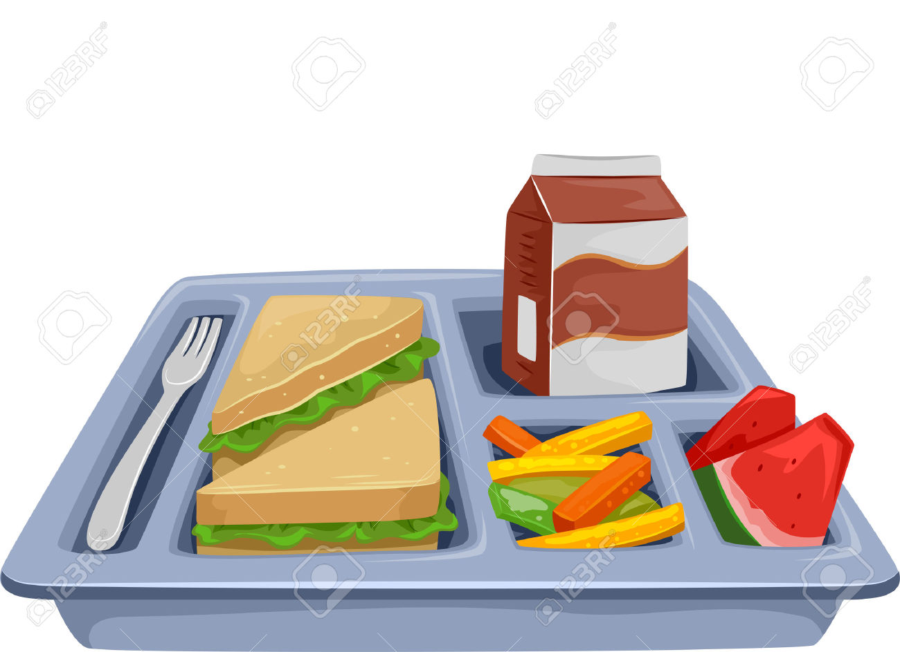 1300x943 Cafeteria Clipart Food Tray