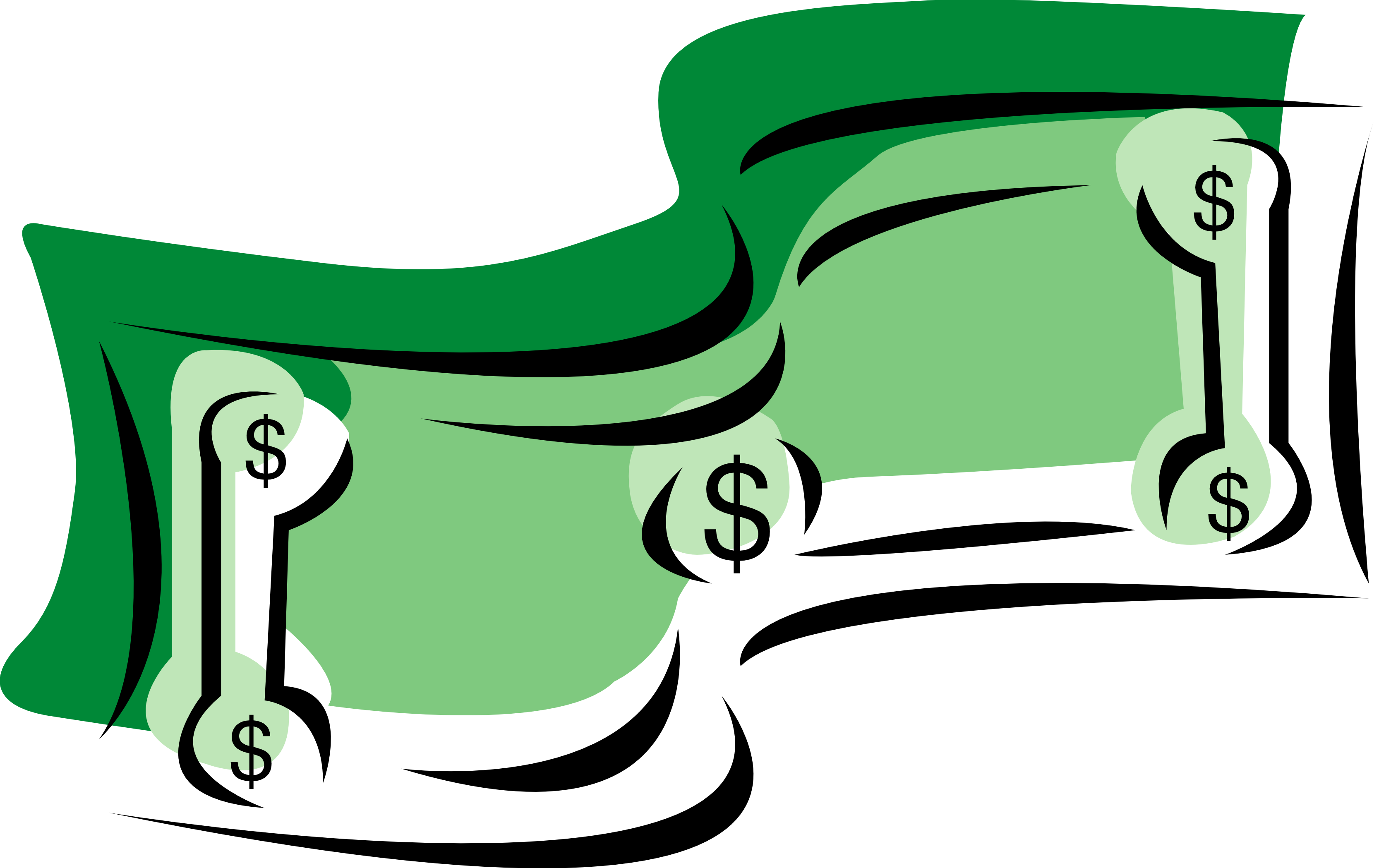 3333x2098 Dollar Bill Images Clip Art