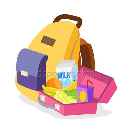 450x450 Kids Lunch Box Stock Vectors, Royalty Free Kids Lunch Box