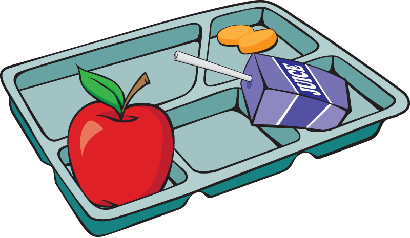 800x465 Lunch Tray Clipart