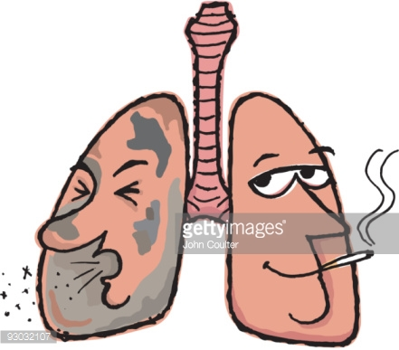441x387 Drawn Cigarette Lung Cancer