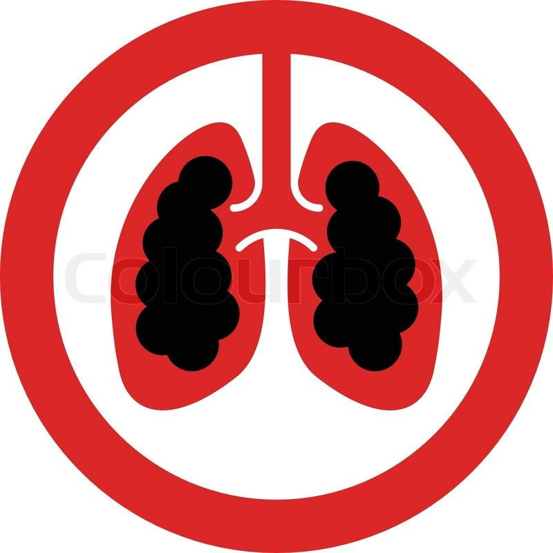 800x800 Smoking Lungs Clipart