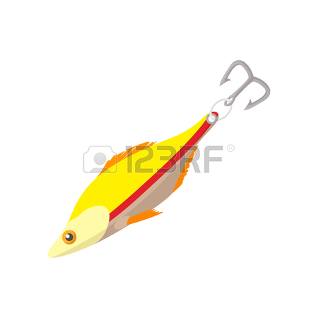 450x450 Fishing Lure Crank Bait Illustration Clip Art Image Royalty Free
