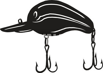 361x256 Hook Clipart Fishing Lure