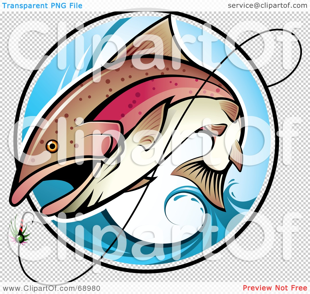 1080x1024 Royalty Free (Rf) Clipart Illustration Fish Leaping Out