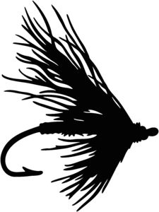 225x300 Clipart Fishing Fly