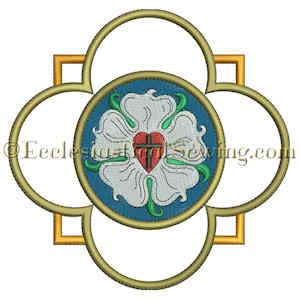300x300 Luther Rose Embroidery Design For Church Vestments