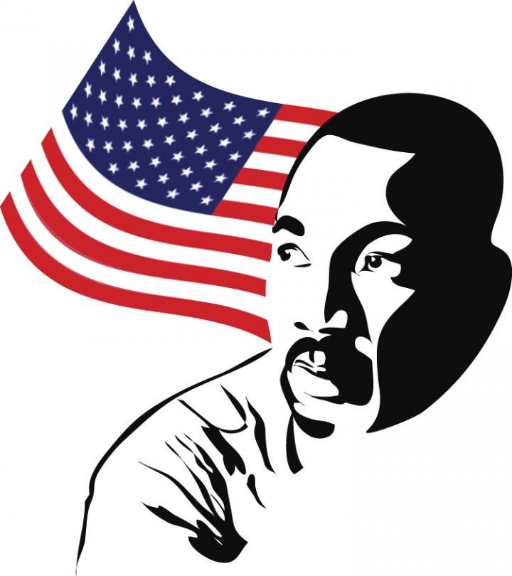 720x810 Martin Luther King Jr Day Clipart