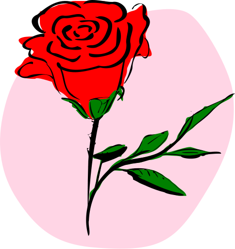 484x512 Clipart Roses