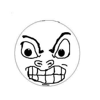 350x350 Mad Face Angry Face Cartoon Free Download Clip Art