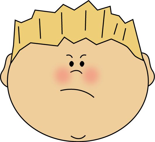 531x486 Angry Face Clip Art