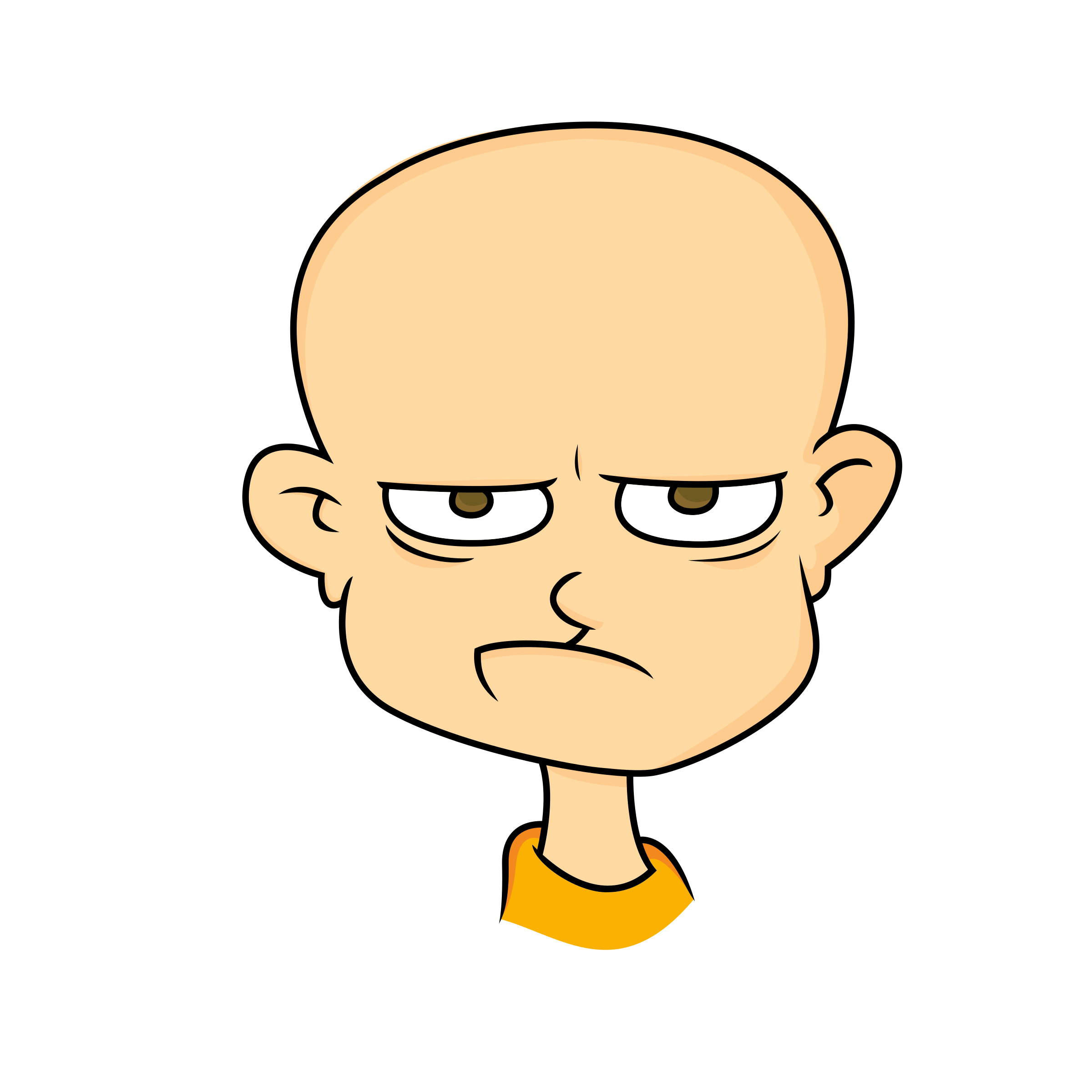 2400x2400 Angry Man Clipart