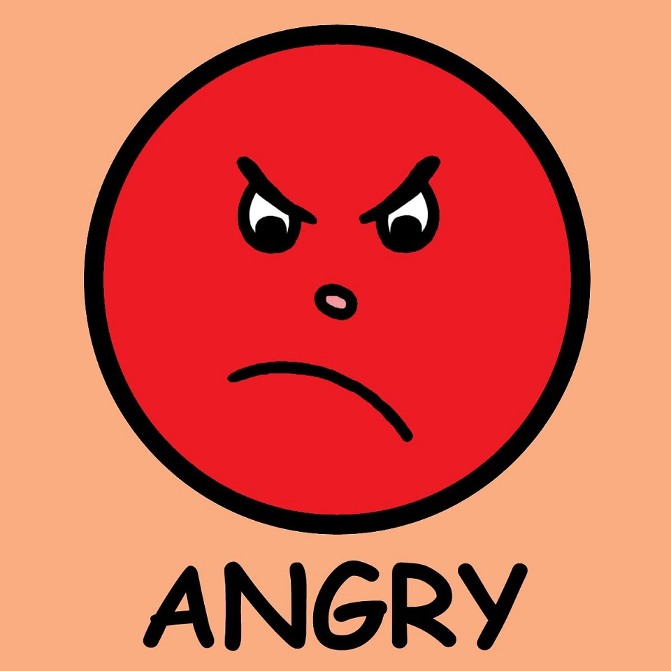 960x960 7152 Angry Faces Emotions Clip Art Angie's Journal