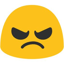266x266 The Best Angry Face Emoji Ideas Angry Face Meme