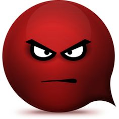 236x236 Red Angry Emoticon Facebook Whatsapp Emoticon