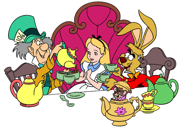 600x427 March Hare And Mad Hatter Clip Art Disney Clip Art Galore