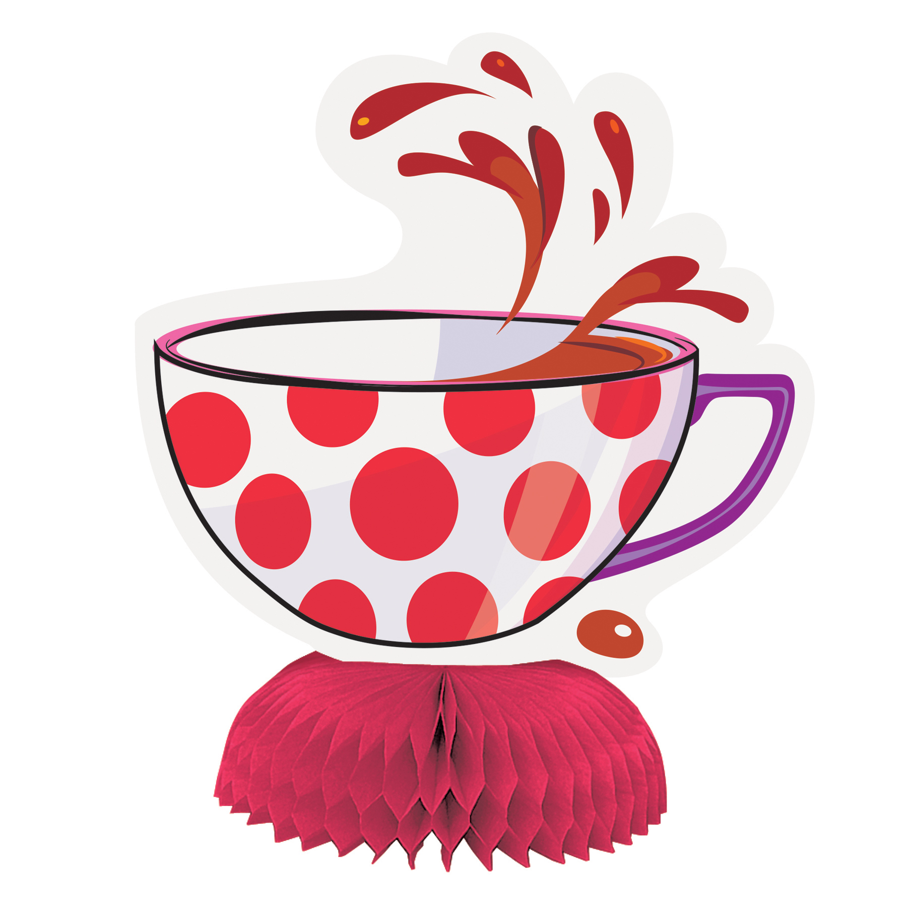 mad hatter tea party clipart free download best mad