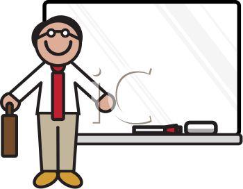 350x272 Male Teacher Teaching Clipart