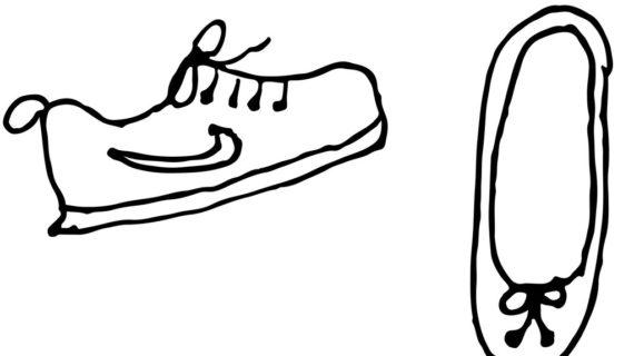 570x320 Cartoon Shoes Drawing Cartoon Shoe Free Download Clip Art Free