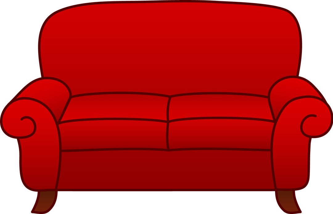 1080x696 Red Living Room Sofa Free Clip Art ~ Idolza