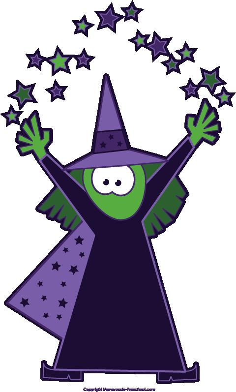 480x797 Magician Clipart Halloween