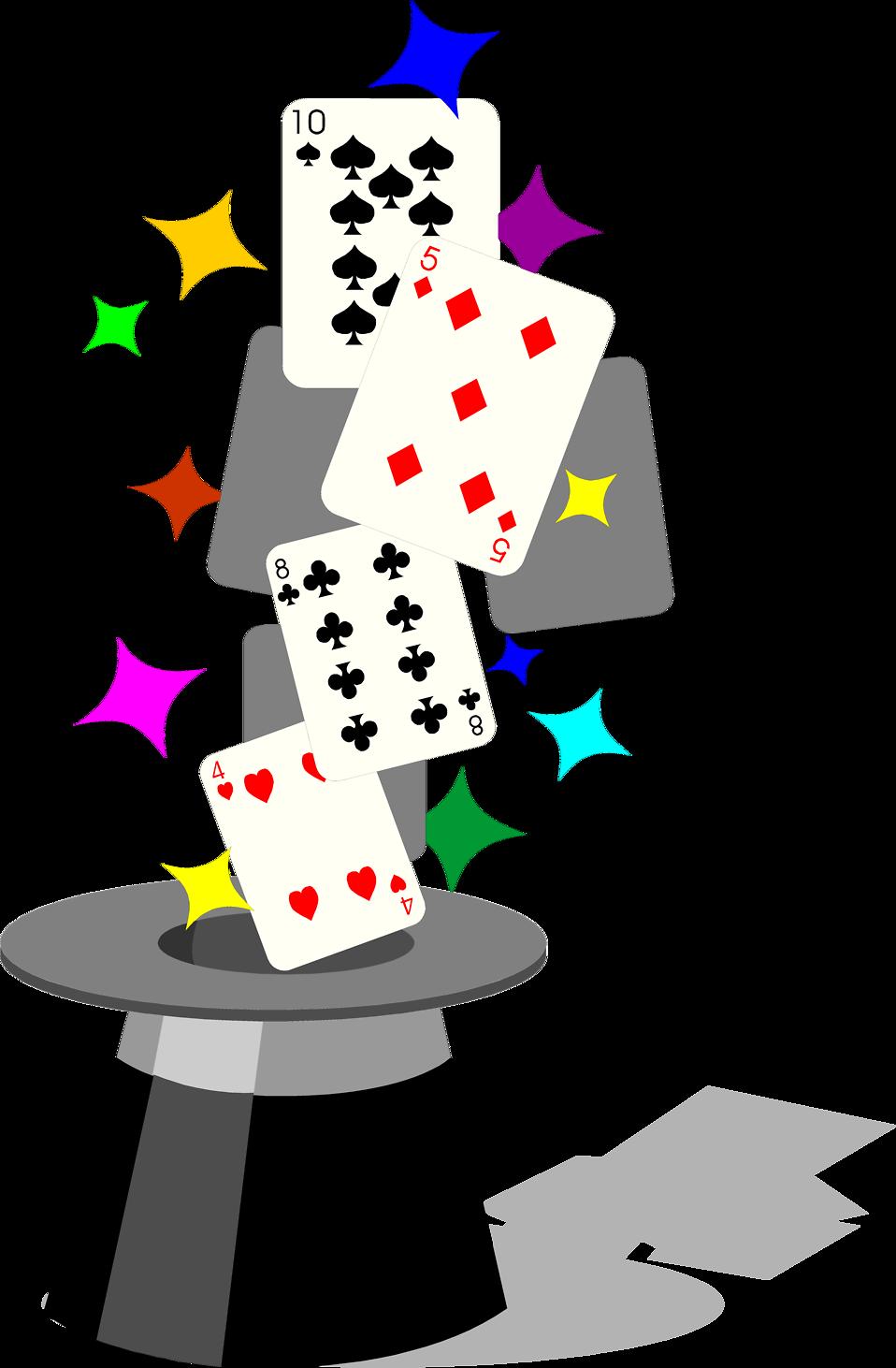958x1462 Magic Free Stock Photo Illustration Of Playing Cardsnd