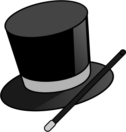 533x558 Magic Hat Clipart