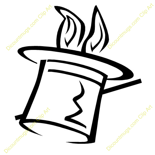 500x500 Magical Clipart Black And White