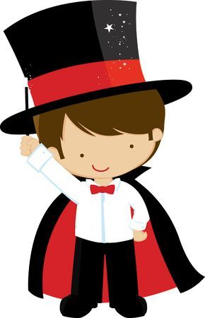 290x450 Rabbit In Hat Magician Clip Art Free Bulletin Boards Doors