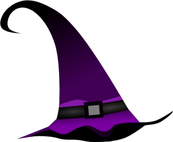 600x493 Witch Hat Clipart