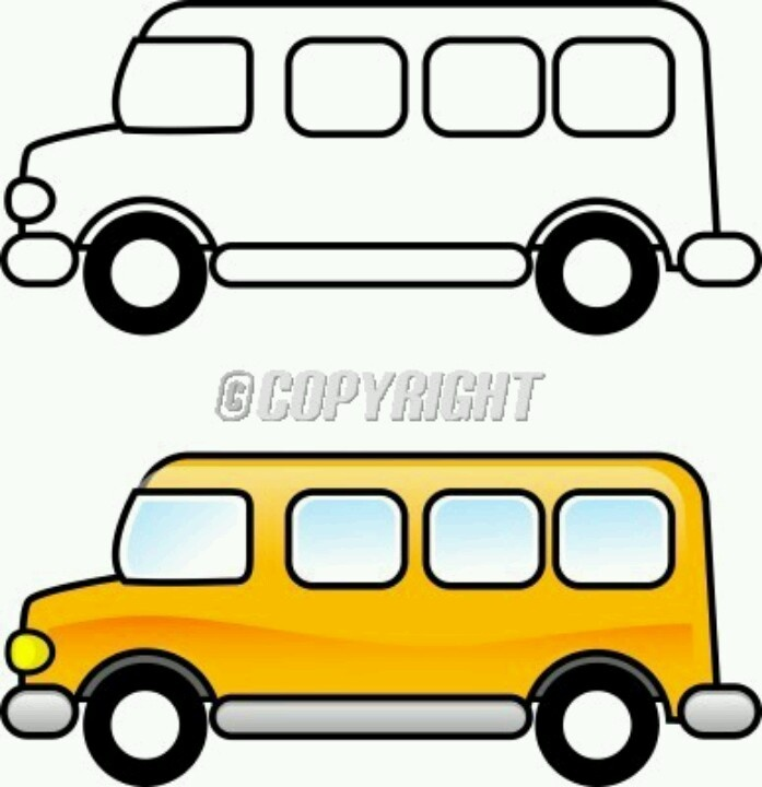 Magic School Bus Clipart