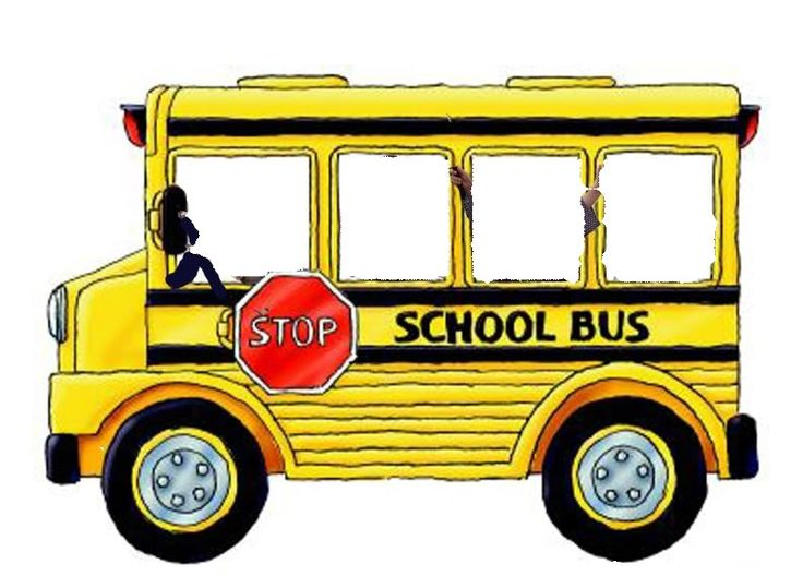 736x528 Bus clipart black and white free images
