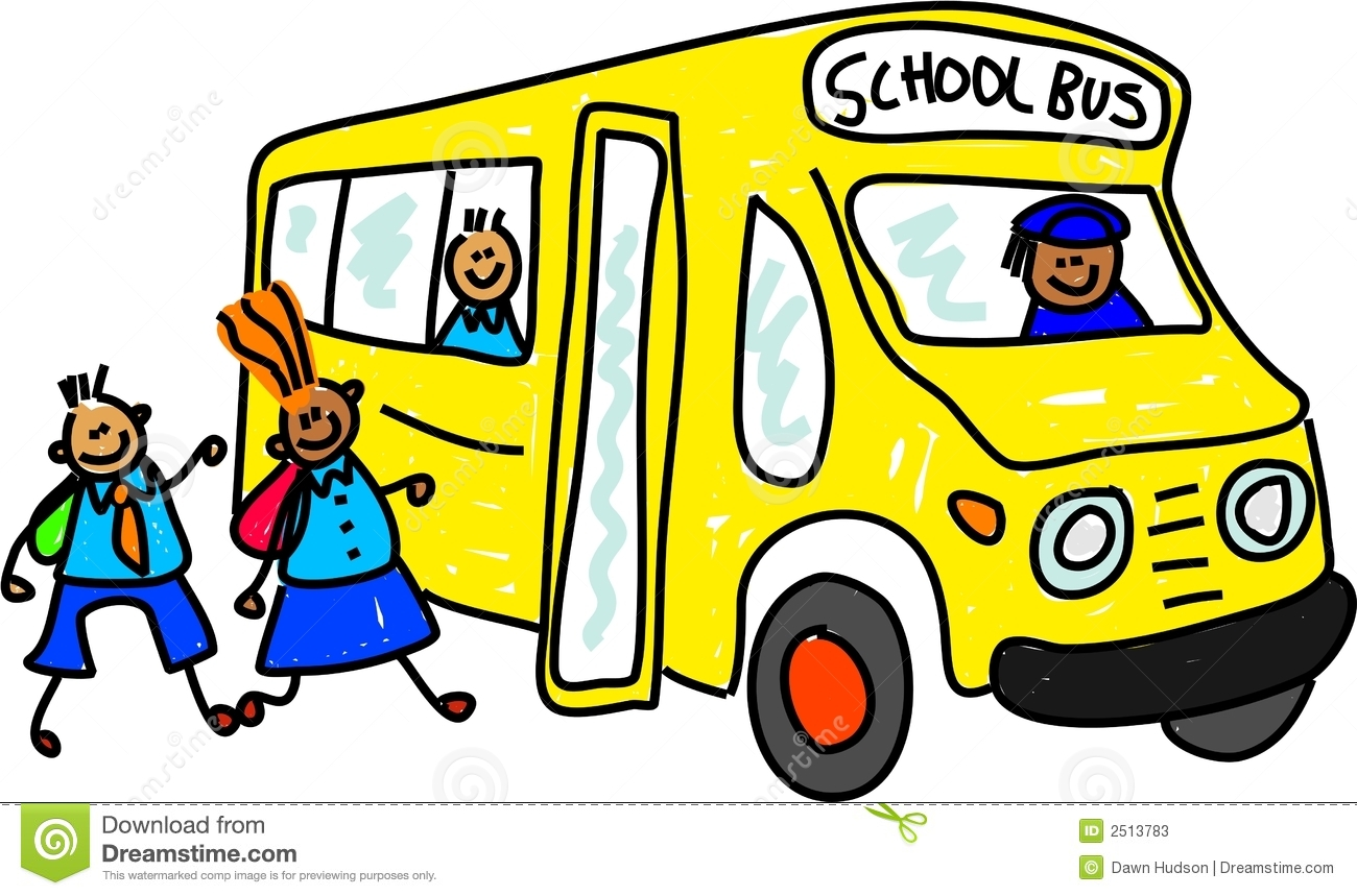 1300x859 Cartoon School Bus Clipart