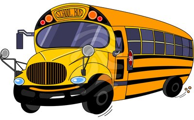 400x249 Kids School Bus Clipart