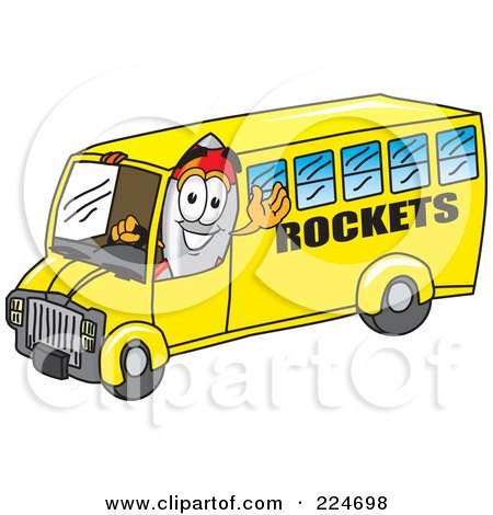 450x470 Rocket clipart bus