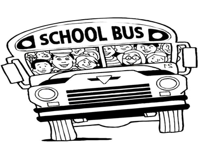 400x322 School Bus Coloring Pages For Preschoolers Page Image Clipart