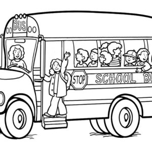 300x300 Crayola Photo The Magic School Bus Coloring Pages